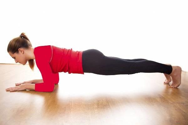لاغری شکم با ورزش پلانک
