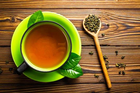 لاغری با چای سبز green tea