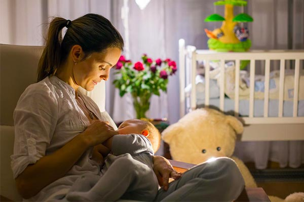during Breastfeeding