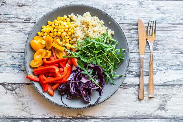 Slimming with vegetarianism 2