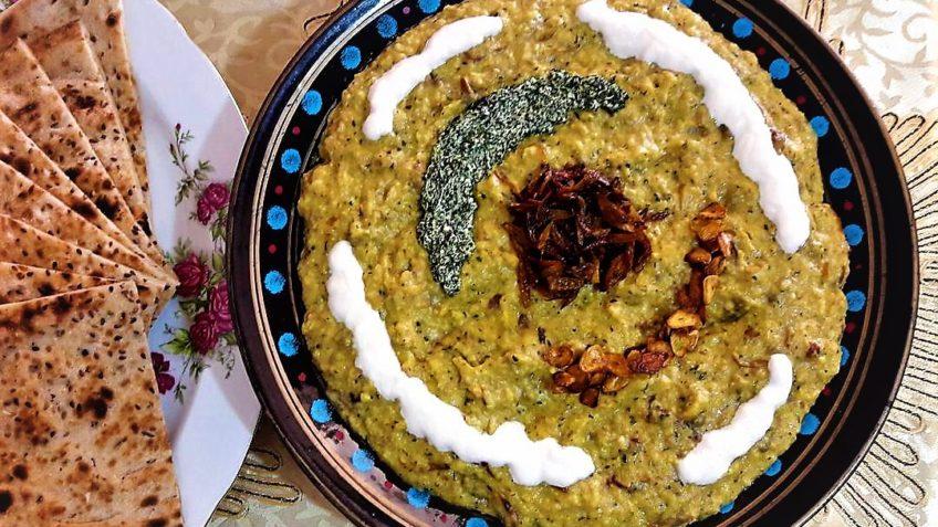 دستور پخت حلیم بادمجان اصفهانی و شیرازی تفاوت زیادی با هم ندارند