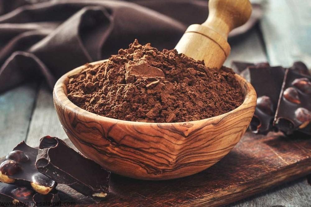 درمان استرس شدید با طب سنتی با پودر کاکائو