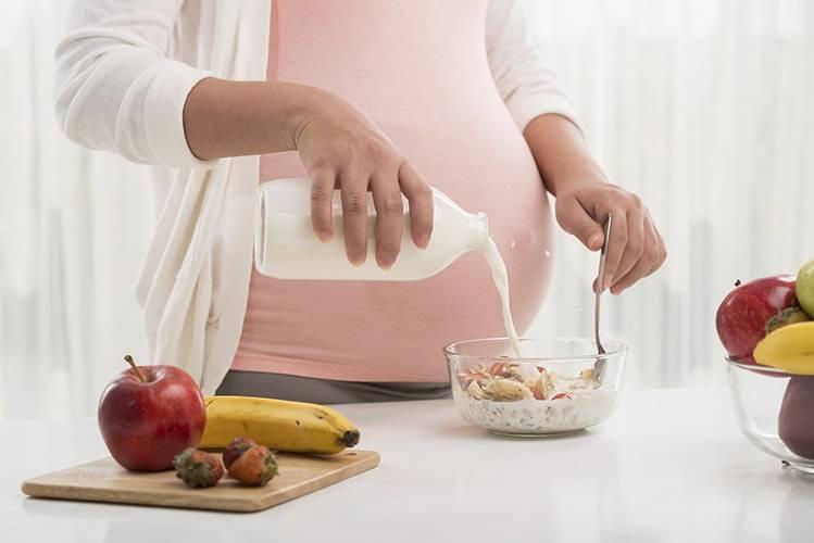 مصرف پروتئین در رژیم غذایی در بارداری در سه ماه اول اهمیت زیادی دارد