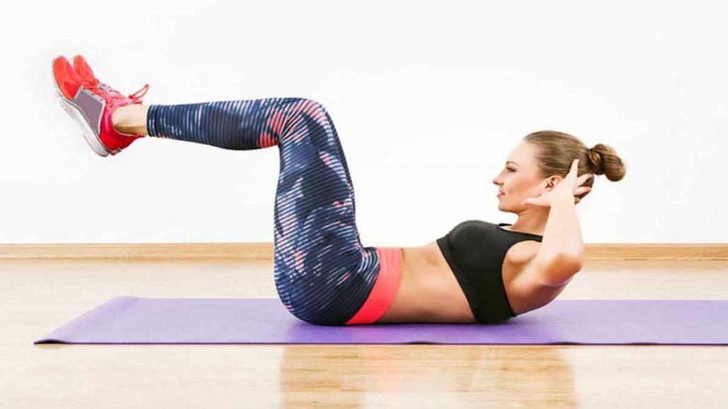 یکی از بهترین نوع ورزش در خانه برای لاغری شکم انجام ورزش دراز و نشست است.
