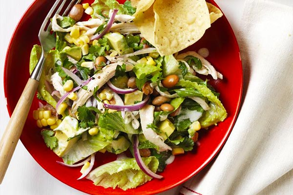 Chicken-and-bean-salad