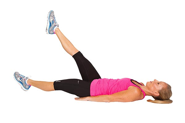 The fourth exercise to slim thigh