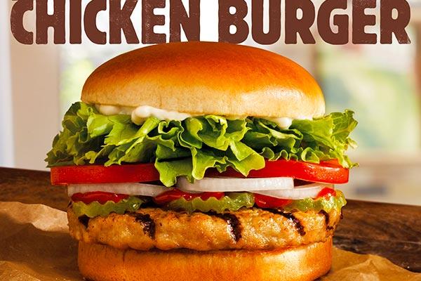 Homemade Burger Chicken Recipe