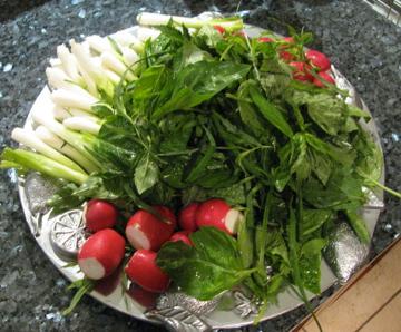 خواص سبزی خوردن / انواع سبزی خوردن