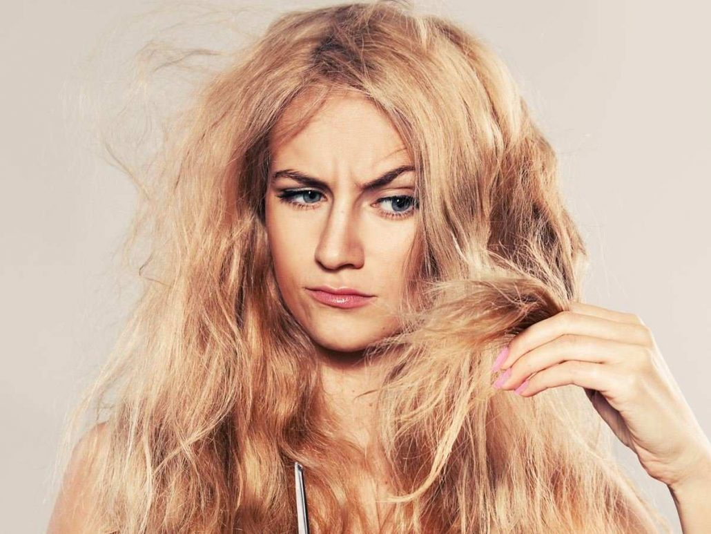 اسک مو برای موهای خشک و فر