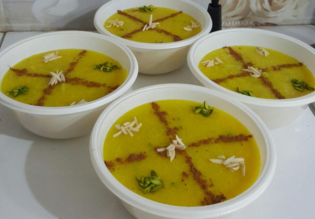 طرز تهیه شله زرد برای 30 نفر