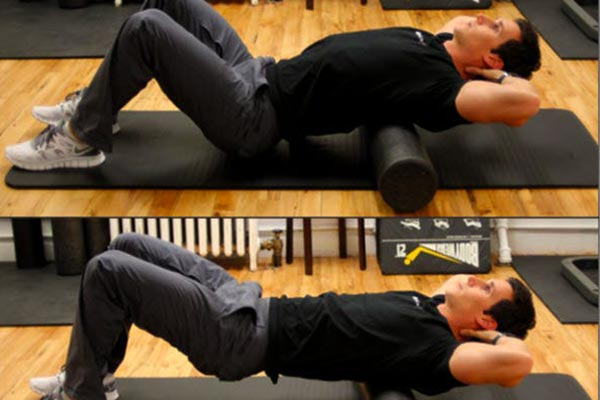 The fifth move for the lumbar hump