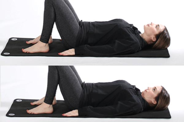 The second move for the lumbar hump