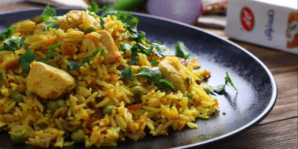 طرز تهیه برنج مکزیکی تند