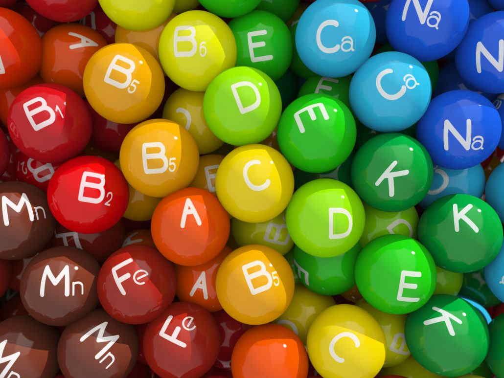 جدول نیاز روزانه بدن به ویتامین ها