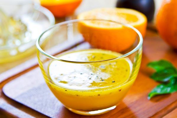 سس خانگی خوشمزه با نارنج