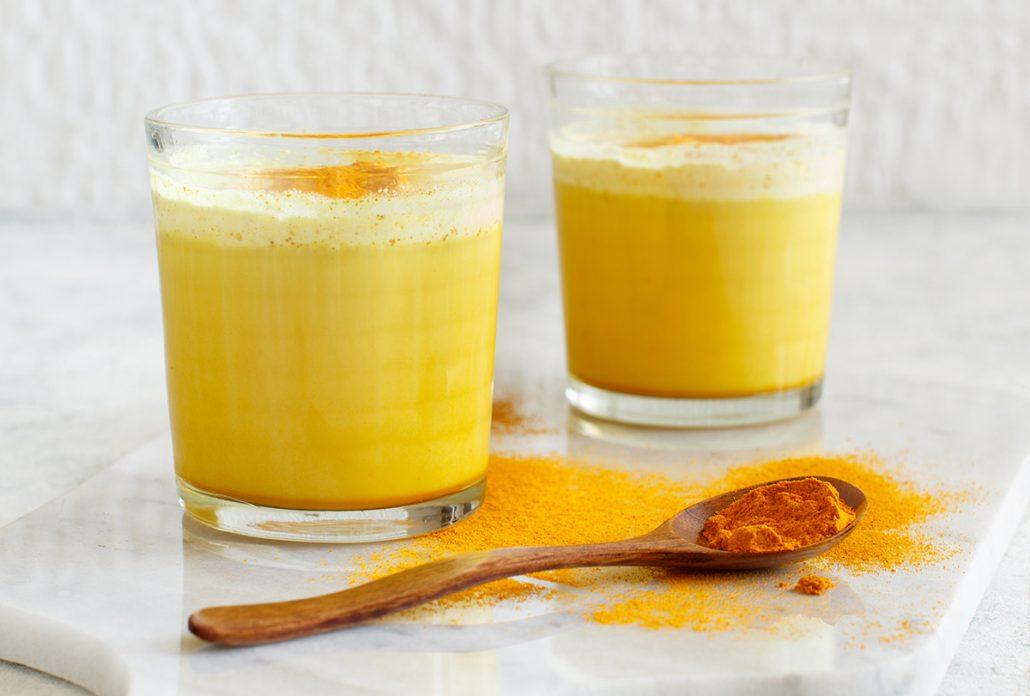 خواص شیر و زردچوبه برای لاغری