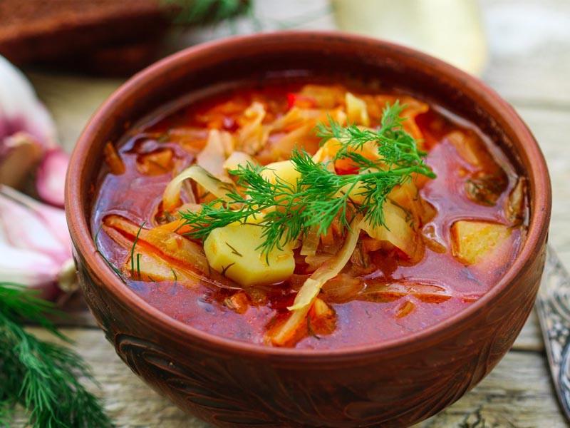 انواع سوپ رژیمی چربی سوز شکم