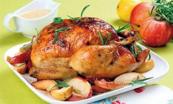 طرز تهیه مرغ در فر بدون فویل