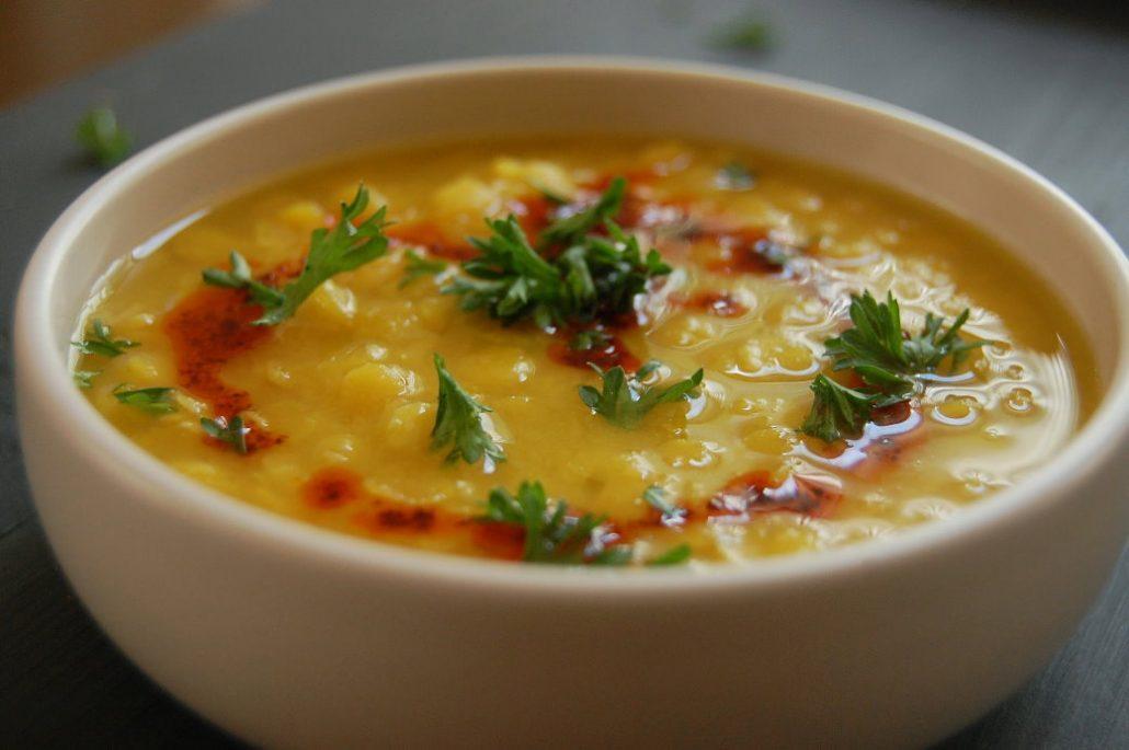 طرز تهیه سوپ دال عدس مجلسی