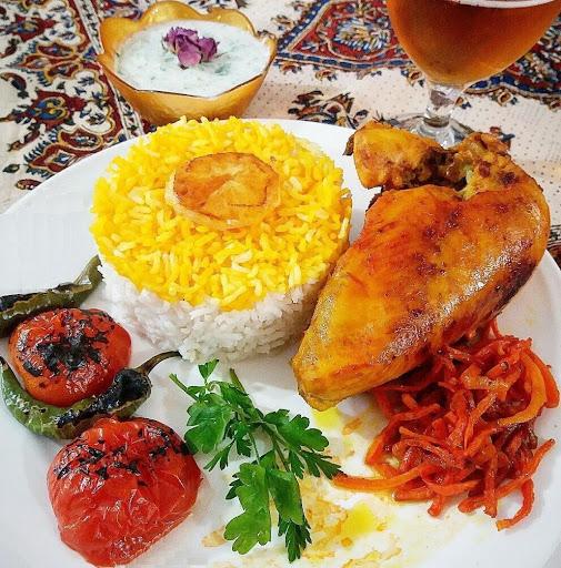 خوراک مرغ تند