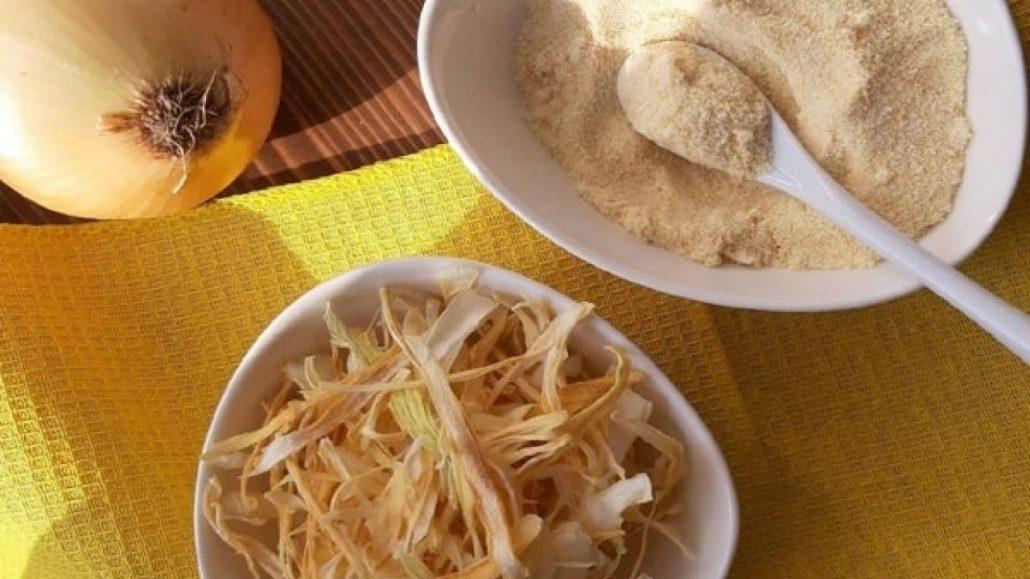 طرز استفاده از پودر پیاز در غذا