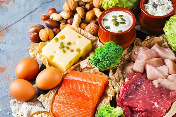پروتئین در کتوژنیک