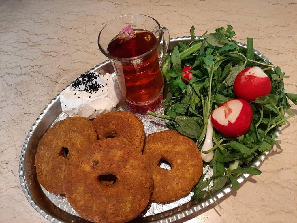 کتلت لپه و سیب زمینی بدون گوشت